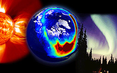 The Connection Between Solar Activity, Volcanic Eruptions and Earthquakes, Weather and Cycles on Earth- Auroras-polar-region