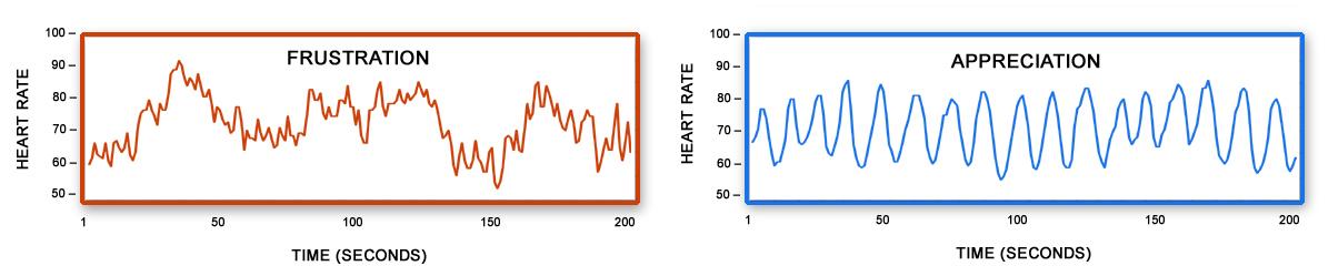 HMI Frustration - Appreciation Heart Rhythm graphs