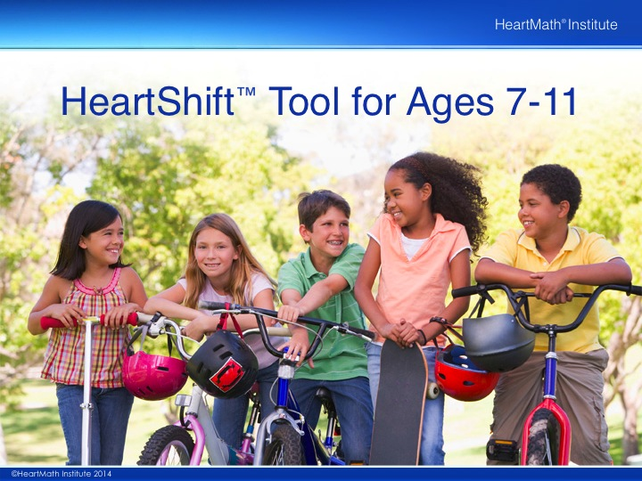 HMI HeartShift Tool for Ages 7-11 PP Slide 1