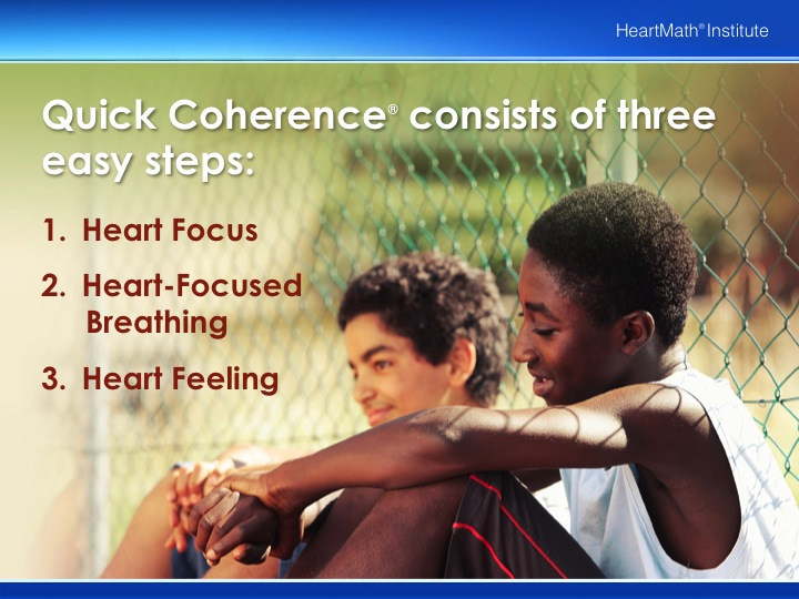 HMI Quick Coherence Technique for Ages 12 – 18 PP Slide 4