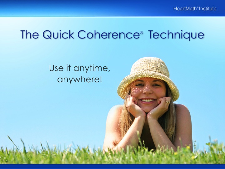 HMI The Quick Coherence Technique for Adults PP Slide 6