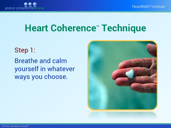 HMI GCI Introductory Heart Coherence Technique PP Slide 2