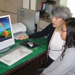 HMI Stories Donation Doctor Uses emWave® in South Korean Orphanages girl and Choi