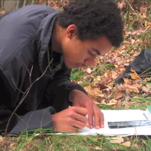 HeartMath Helps New Vision Wilderness Reach At-Risk Youth in Rural Wisconsin Steve Sawyer boy studying