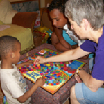 HeartMath Making Difference for South African Youth playing game