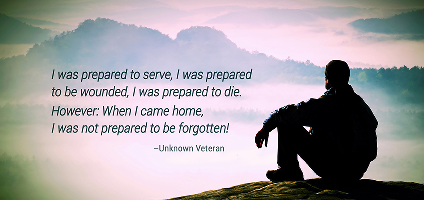 Veteran Day Appreciation and Compassion