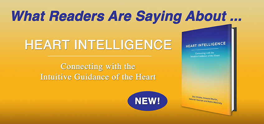 Heart Intelligence Book What People Are Saying