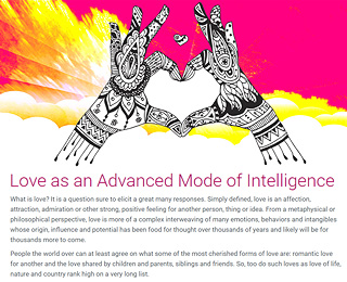 Love as an Advanced Mode of Intelligence
