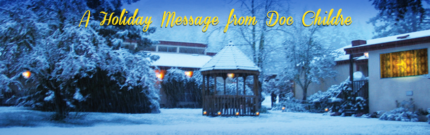 Holiday Message from Doc