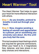Heart Warmer Tool Card